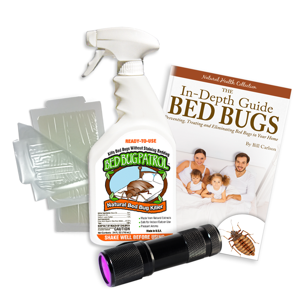 Bed Bug Killer by Bed Bug Patrol - Home Protection Pack (1 Room)