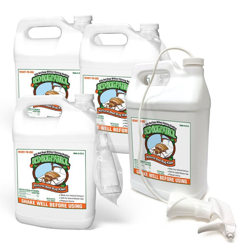 Bed Bug Killer by Bed Bug Patrol - (4) 1 Gallon Pack