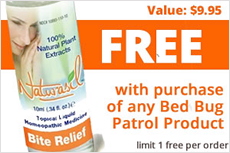 FREE! Naturasil Itch & Bite Relief 10ml - 9.99 Value (w/Purchase of Bed Bug Patrol Products *Limit 1 per Order)