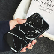 Personalized Custom Phone Case - Light Marble with 4 Colors (Samsung/Oppo/Vivo/Huawei/Xiaomi)