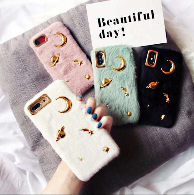 Fluffy Universe iPhone Case- 3 colors - X/XS/XS MAX/XR