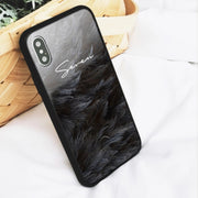 Personalized Custom Phone Case - Feather (iPhone 6/7/8/X/XS/XSMAX)