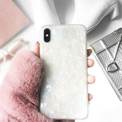 Shiny Shell Case - iPhone X/XS/XR/X MAX/8/7/6
