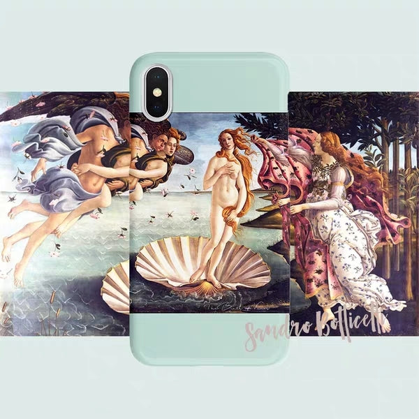Sandro Botticelli  | Original Art Collection | Soft Case | XSM/X/XS/8/7/6