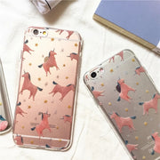Cute Unicorn Soft iPhone Case