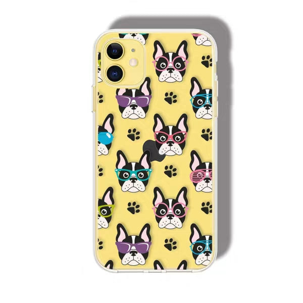 Animal Print - Dog Floral Case