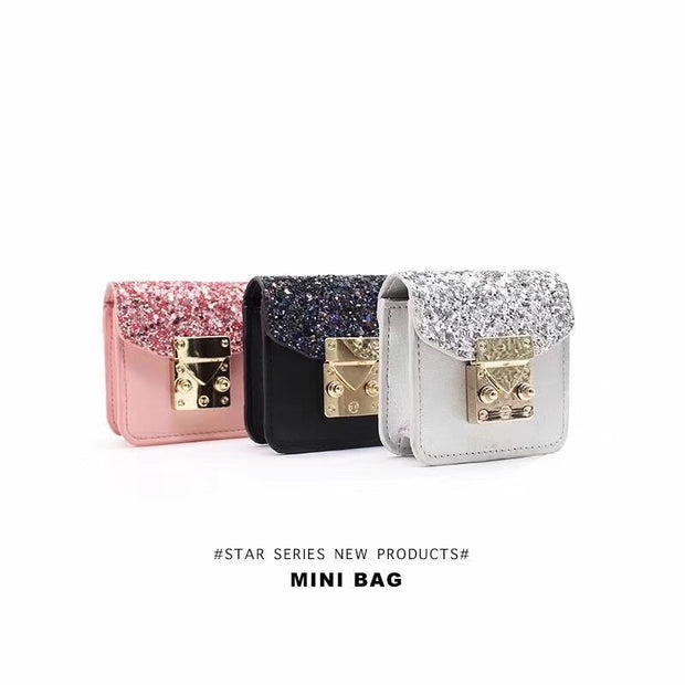 Luxury Super Mini Metal Satchel Airpod Bag