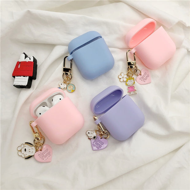 Cut Japanese Pastel SIlicone Airpods Case