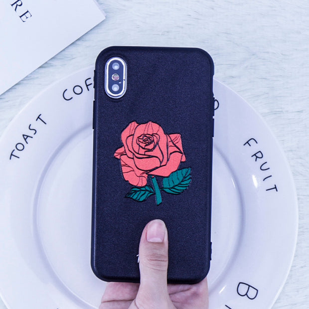 Red Roses Soft Case | iPhone XSM/XS/XR/8/7/6