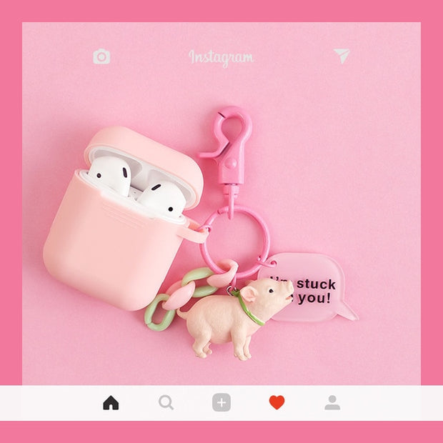 Cute Dogs Silicone Airpods Case