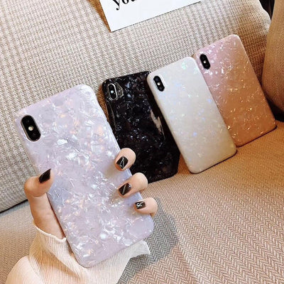 New Glitter Shell Soft Case | iPhone XS Max/X/XS/XR/8/7/6