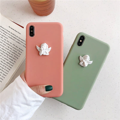 3D Cupid Angel Silicone Case