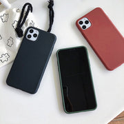 Plain Soild Silicone iPhone Case | iPhone 11/Pro/Max/ 10/Pro/Max/X/XS/XR/8/7/6