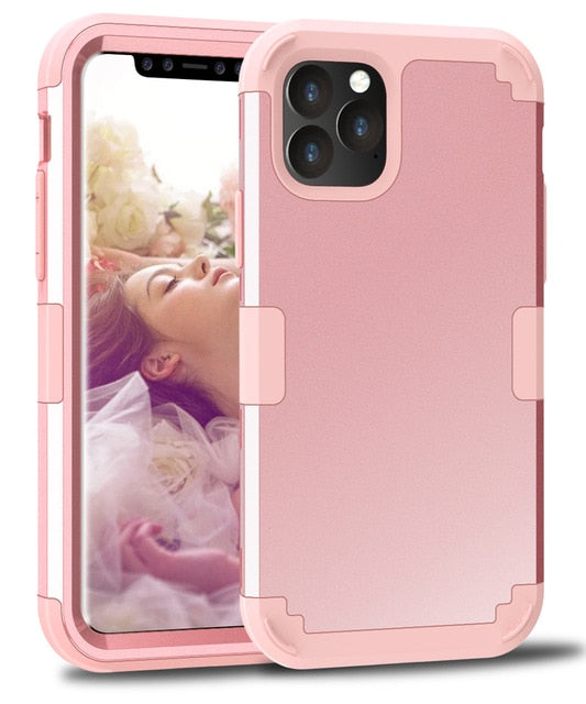 Full Protective Safe Shockproof Silicone Phone Case