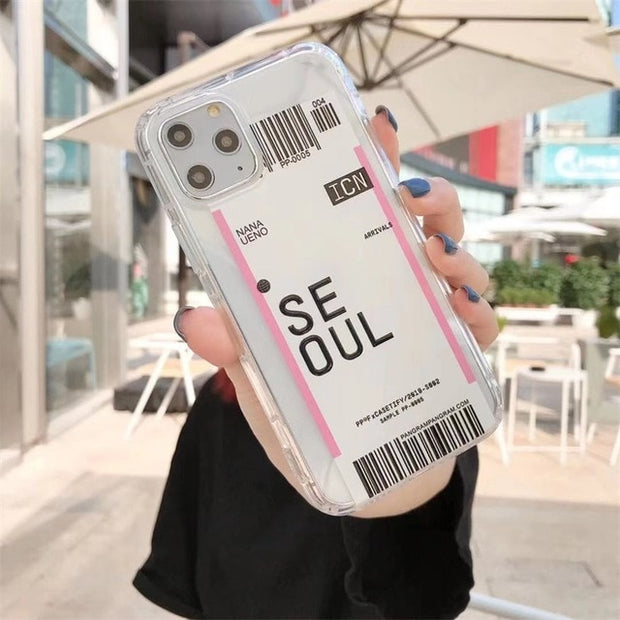 Get Your Passport Ready - City Label Soft iPhone Case
