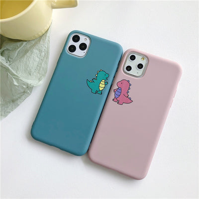 Super Cute Dinosaur  |  iPhone 11/Pro/Max/ 10/Pro/Max/X/XS/XR/8/7/6