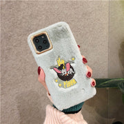 Mickey Mouse 3D Embroidery Cute Case | iPhone 11/Pro/Max/ 10/Pro/Max/X/XS/XR/8/7