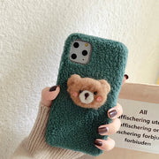 Cute Animal Winter Fabric Cover