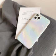 Colorful Powder Plating Laser Glitter Phone Case