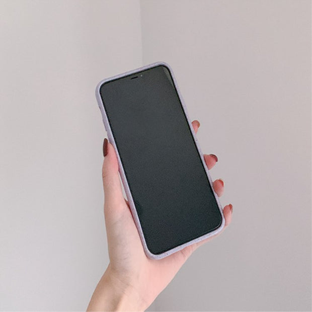 Simple Fresh Colorful Matte Bumper Phone Case | iPhone 11/Pro/Max/ 10/Pro/Max/X/XS/XR/8/7/6
