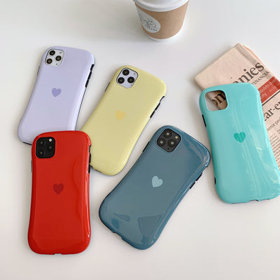 Love heart Pattern Silicon Phone Case  | iPhone 11/Pro/Max/ 10/Pro/Max/X/XS/XR/8/7/6