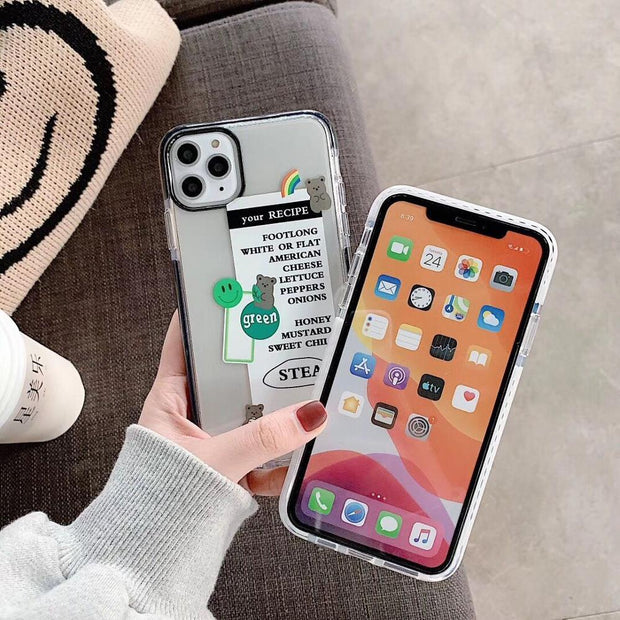 Rainbow Bear Silicone Phone Case  | iPhone 11/Pro/Max/ 10/Pro/Max/X/XS/XR/8/7/6