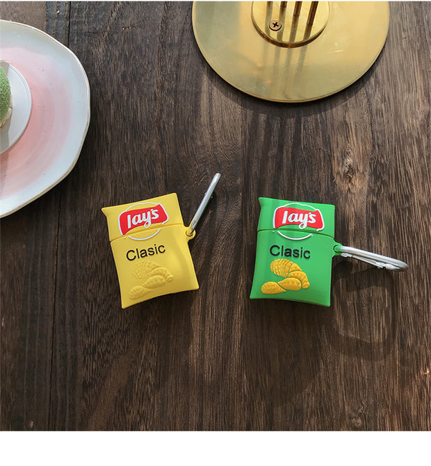 Lay's Potato Chips Snack Case for Airpods 1/2
