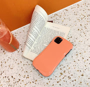Solid Candy Color Glossy iPhone Cases