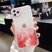 Luxury Transparent Glitter Marble Phone Case