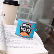 Brand Heinz Breakfast Can Tomato Sauce Baked Beanz case for AirPods 1 2 pro