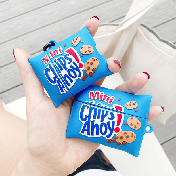 Chips Ahoy Chocolate Cookies Case For AirPods 1 2 Pro