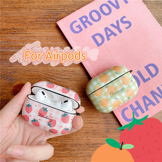 Funny Fruit Cases For Apple AirPods 3 2 1 Case