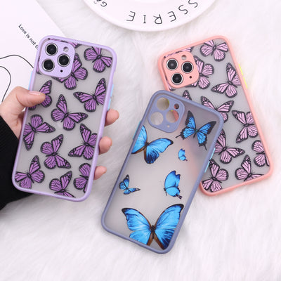 Cute 3D Relif Butterfly Phone Case