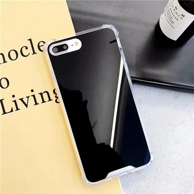 Airbag Shockproof Soft Silicone Full View Mirror Case