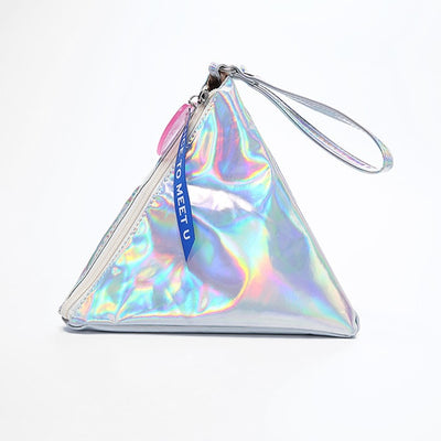 Hologram Triangle Clutch | Let The Holidays Begin