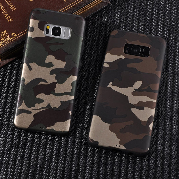 Camo Soft Phone Case | Samsung