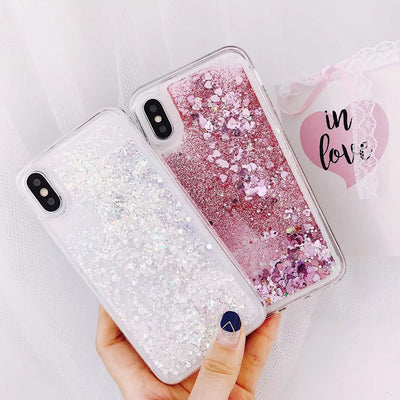 Moving Glitter Case - 4 Colors