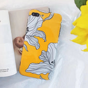Yellow Lover | Glossy Flowers | Phone Case iPhone XSM/XS/X/8/7/6