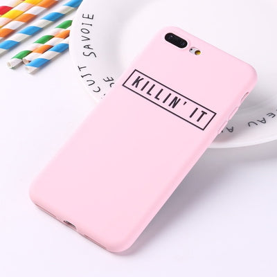 Killing It  | Girls Power | Silicone Matte Case | XS/X/XR/8/7/6