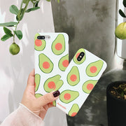 Lovely Avocado | Soft Cases | iPhone XS/XR/8/7/6