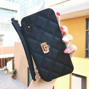 Luxury Wallet Soft Silicone Phone Case | Nightout Purse