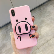 Super Cute Cartoon Pig Case | Soft Case