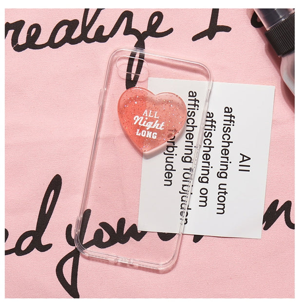 ALL NIGHT Long Soft iPhone Case