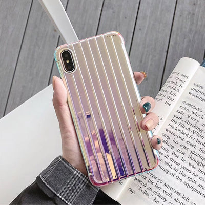 Hologram Laser Luggage Phone Case
