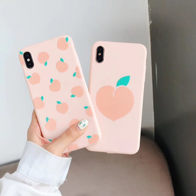 Light Pink Peach Phone Case | iPhone XSMXXS/X/XR/8/7/6