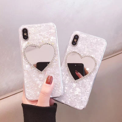 Luxury Diamond Mirror Soft Phone Case | iPhone XSM/XS/XR/8/7/6
