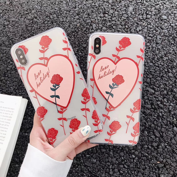 Lovely Roses Phone Case | iPhone XSM/XS/XR/8/7/6