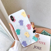 Candy Bear Soft Phone Case