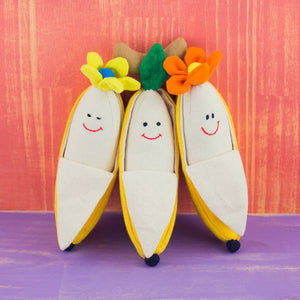 Bunch of Bananas Plush Rattles
