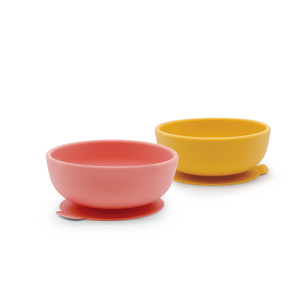 Silicone Suction Bowl - Set of 2